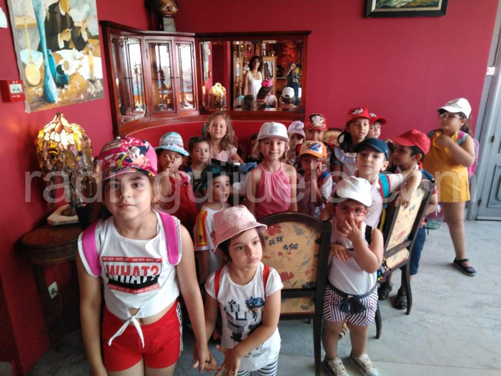Niños del Ludoverano en la Casa Lis.
