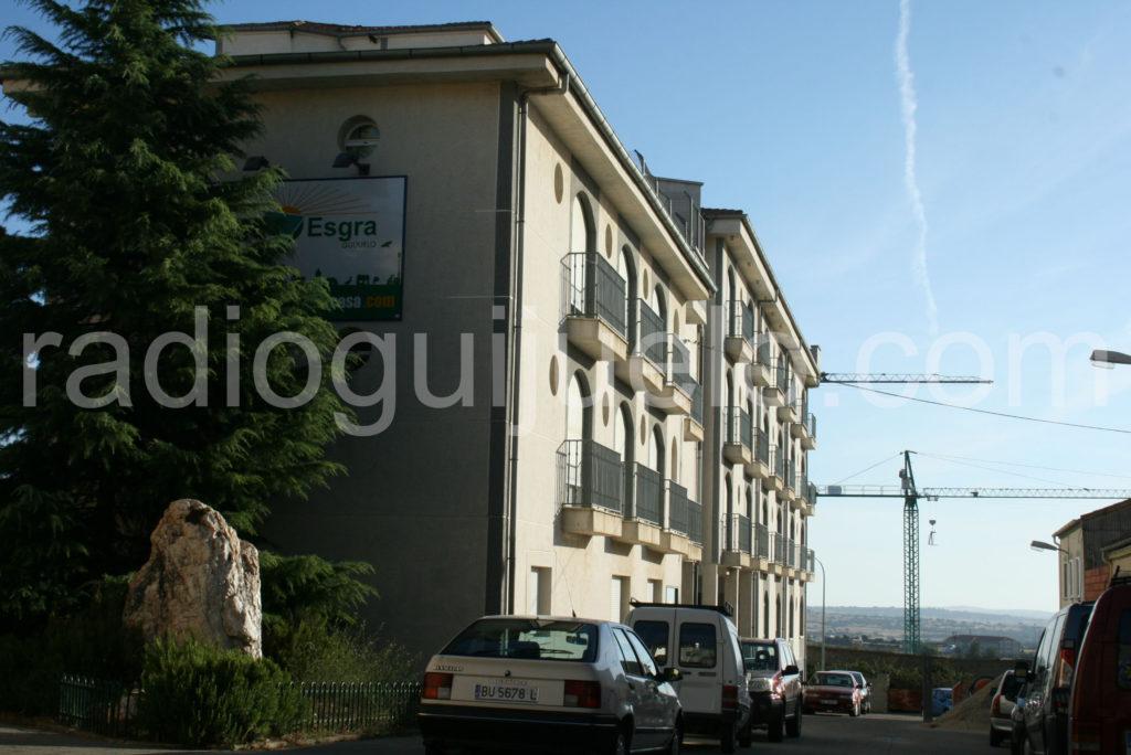 Residencia de Guijuelo. Foto Archivo.