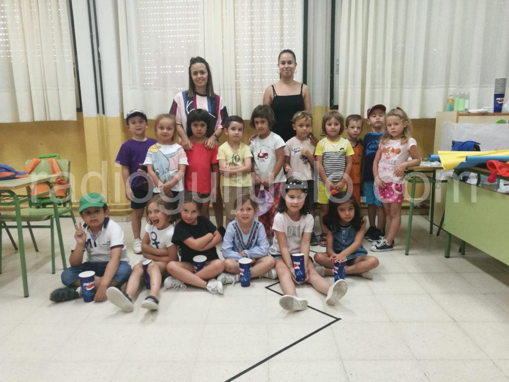 Participantes de las Semicolonias 2019.