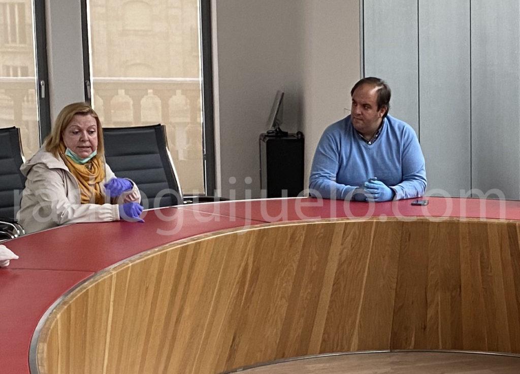 Roberto Martín y Julia Castilla.