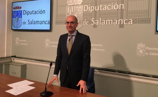 Javier Iglesias presidente de la Diputación. Foto Diputación de Salamanca.