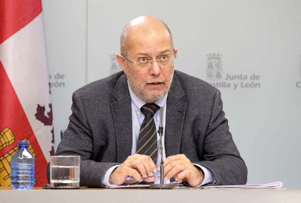 Francisco Igea, vicepresidente de la Junta de CyL. Foto.Junta CyL.