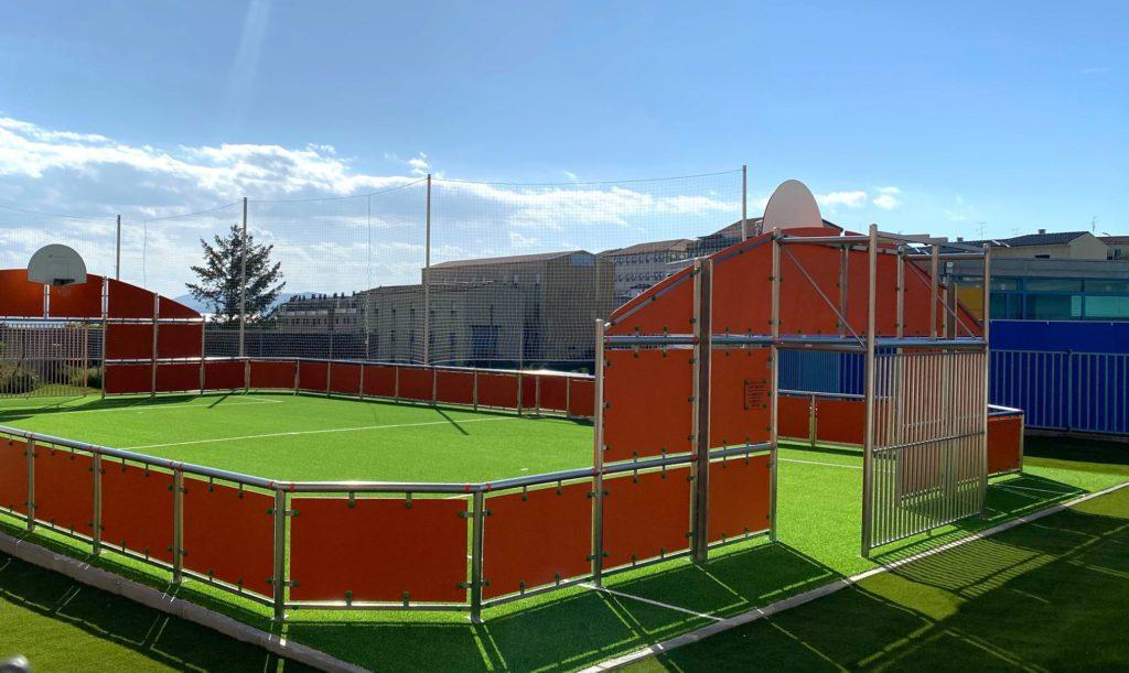 Nueva pista deportiva en Guijuelo.