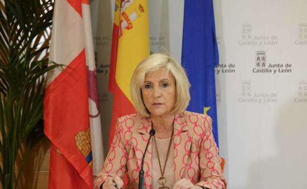 Verónica Casado, consejera de Sanida de CyL.Foto.Junta CyL.